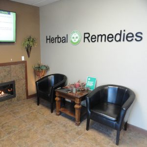 herbal remedies front lobby