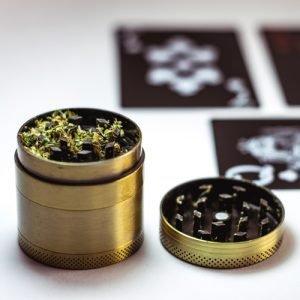 cannabis herb grinder