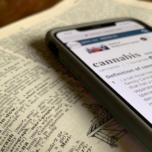 cannabis definition phone dictionary