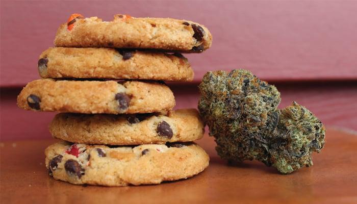 cannabis edible cookies