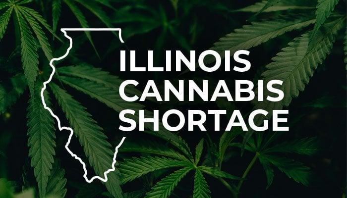 illinois cannabis shortage