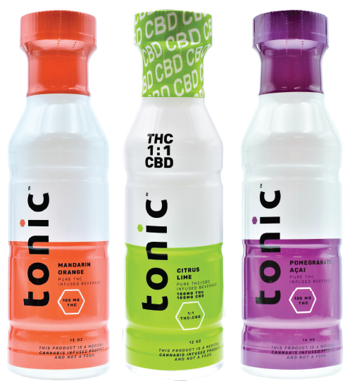 tonic beverage three flavors