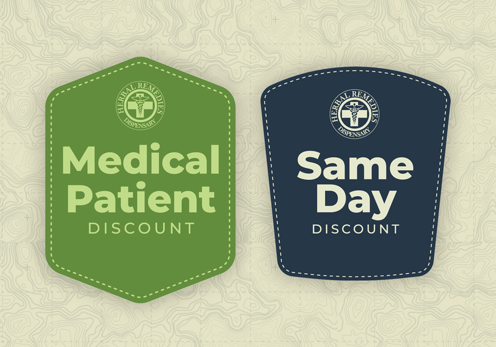 herbal remedies medical patient and same day discounts