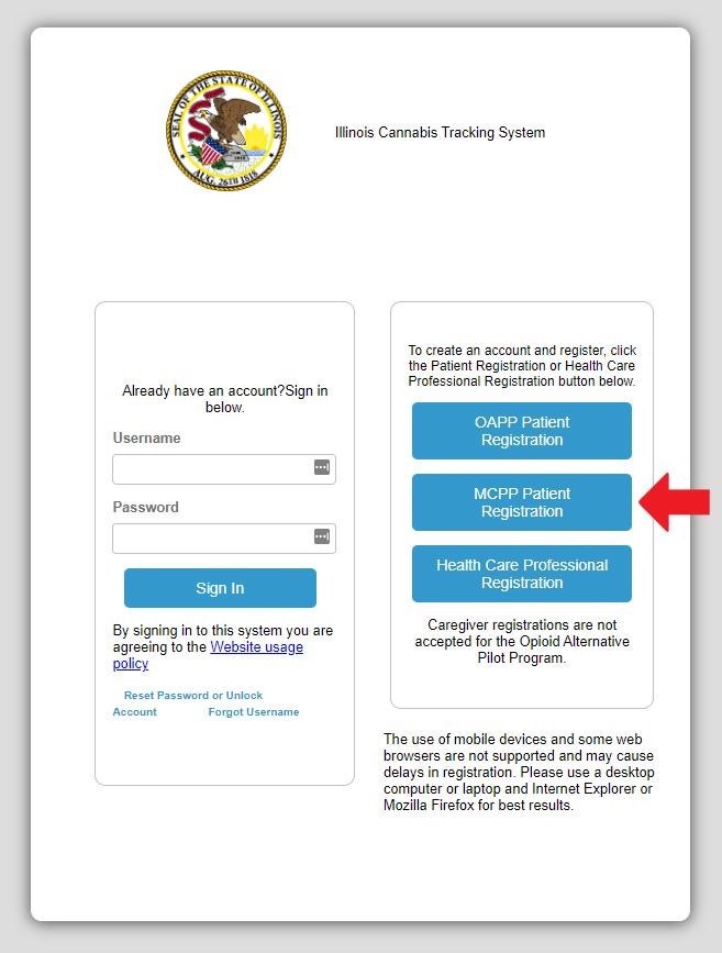 online mcpp application