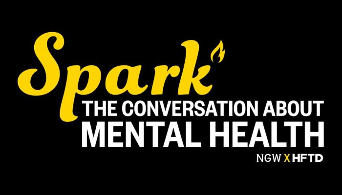 spark the conversation about mental health blog graphic